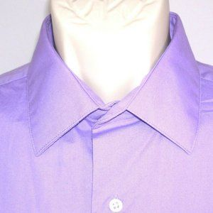 Mens Classic Dress Shirt Large 16-16 1/2 32/33